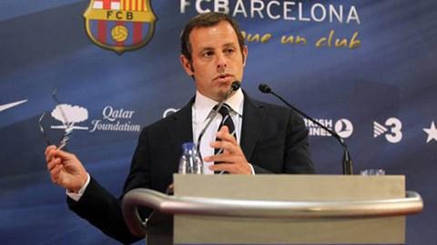 Chủ tịch Sandro Rosell của Barca