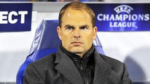 Frank de Boer là ứng viên sáng giá cho chiếc ghế HLV Tottenham