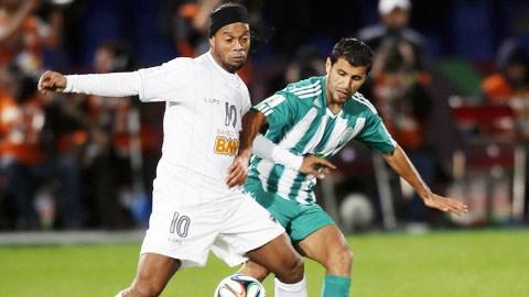 Atl.Mineiro của Ronaldinho đã nếm mùi đau khổ trước chủ nhà Raja