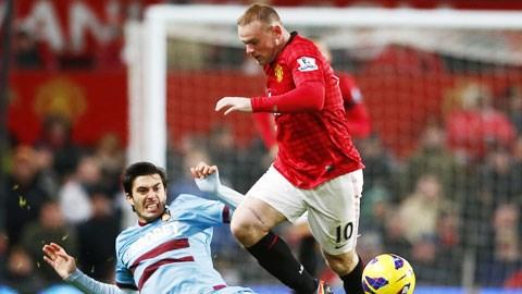 Rooney (trên) và đồng đội sẽ không đánh rơi 3 điểm trên sân nhà