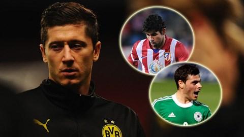Ai sẽ kế thừa Lewandowski ở Dortmund?