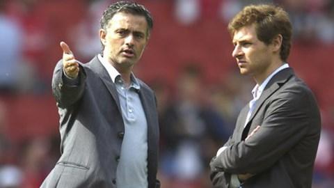 Mou cho rằng Tottenham nên kiên nhẫn hơn với Villas-Boas