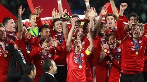 Bayern hoàn tất cú ăn 5