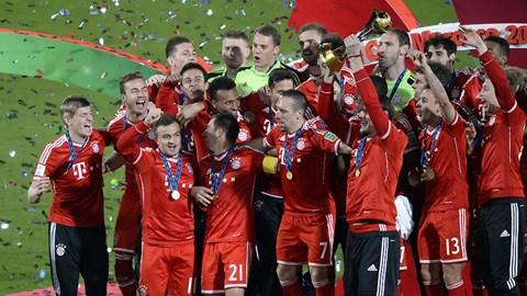 Bayern lần đầu tiên đoạt danh hiệu FIFA Club World Cup