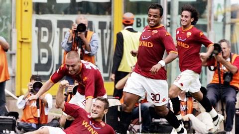 Sân nhà Olimpico sẽ là điểm tựa giúp Roma giành trọn 3 điểm