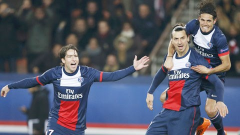 """""""Song sát"""" Ibrahimovic - Cavani (bìa phải) sẽ lại là đầu tàu giúp PSG giành chiến thắng"""