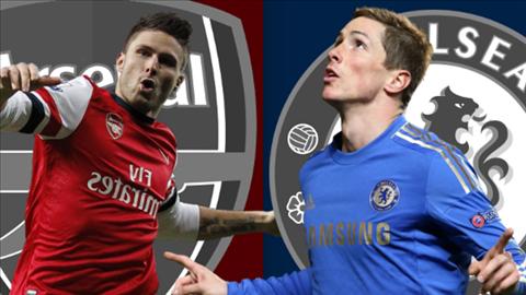 Giroud và Torres sẽ là chủ công của 2 đội