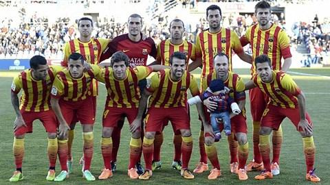 Barca có thành tích vượt trội tại La Liga trong năm 2013