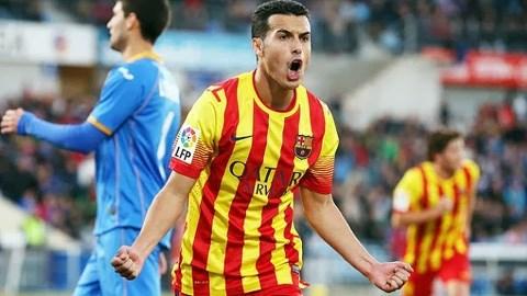 Pedro - người hùng của Barca trong chiến thắng trước Getafe