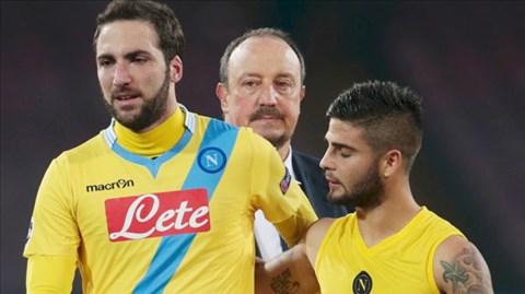 Thày trò HLV Benitez vẫn thiếu sự ổn định để đua tranh Scudetto