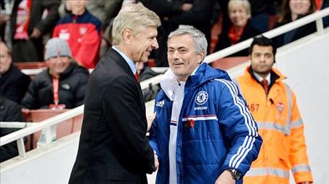 HLV Wenger chưa từng thắng được Mourinho