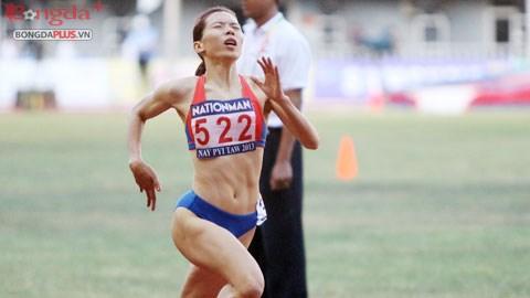 Vũ Thị Hương đã thăng hoa và đòi lại ngôi vị của mình tại SEA Games 27