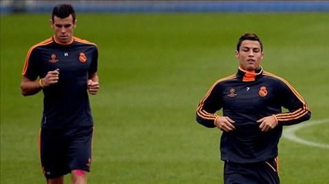 Bale và Ronaldo