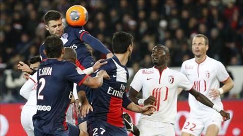 PSG đã phải chia điểm với Lille