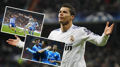 Ronaldo đã lập nên một kỉ lục mới của cá nhân trong màu áo Real