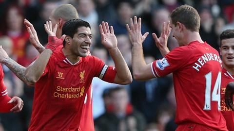 Liverpool đang dẫn đầu ở Premier League