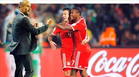 Pep Guardiola là HLV đầu tiên bất bại cả 16 trận đầu cầm quân ở Bundesliga