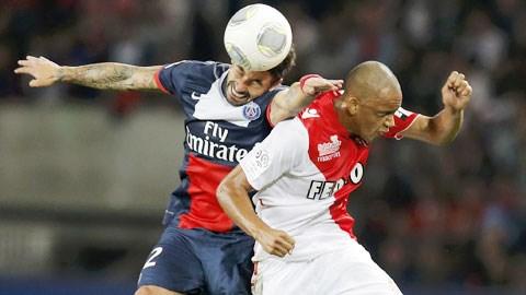 PSG (trái) và Monaco thể hiện sự vượt trội tại Ligue 1 nhờ những ngôi sao hàng đầu trong đội hình
