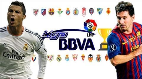 La Liga 2013/14 đã bước vào kỳ nghỉ Đông