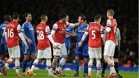 Arsenal và Chelsea cầm chân nhau ở Emirates