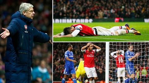 Sự cầm chừng và có phần rụt rè trong cách nhập cuộc khiến Arsenal đánh mất lợi thế trong cuộc đua vô địch