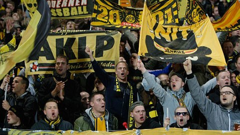 Trong bất cứ hoàn cảnh nào, Dortmund luôn nhận được sự cổ vũ vô điều kiện của các CĐV