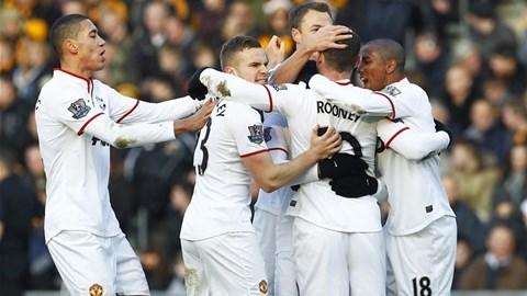 Rooney có bàn thắng thứ 150 cho M.U ở Premier League