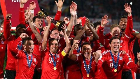 Bayern vừa giành danh hiệu thứ 5 là chức vô địch FIFA Club World Cup trong năm 2013