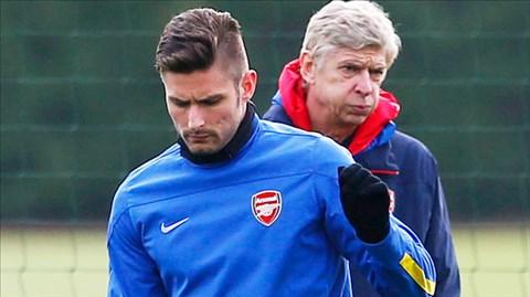 Giroud cũng chỉ là một tiền đạo giá rẻ của Arsenal