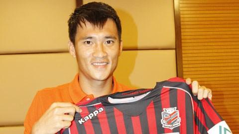 Công Vinh sẽ được biệt đãi về cả lương và thưởng nếu tiếp tục thi đấu cho Sapporo