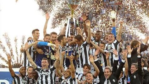 Juventus đã trải qua 1 năm thi đấu thành công