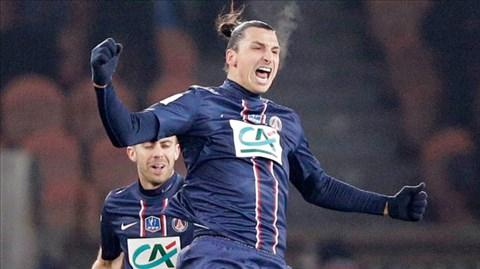 Ibra đã khép lại năm 2013 khá thành công với nhiều danh hiệu và chức vô địch Ligue 1 cùng PSG