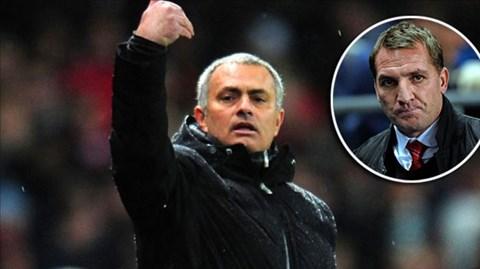 Mourinho có mối quan hệ tốt với Rodgers