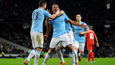 Man City leo lên vị trí thứ 2 sau khi đánh bại Liverpool