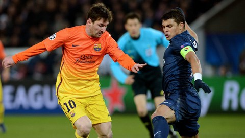 Với sự hào phóng của chủ tịch Al-Khelaifi, rất có thể Messi sẽ trở thành đồng đội của Thiago Silva