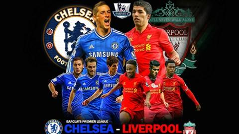 Đại chiến Chelsea - Liverpool là trận đấu được chờ đợi nhất ở vòng 19 Premier League