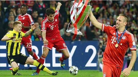 Bayern đã cùng Dortmund làm nên trận chung kết Champions League toàn Đức