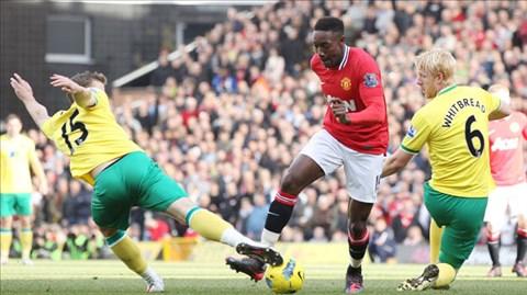 Trước một Norwich quá yếu, M.U (giữa) sẽ không khó khép lại năm 2013 bằng một chiến thắng