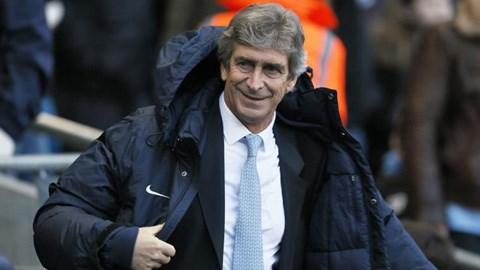 HLV Manuel Pellegrini hài lòng khi Man City chỉ thắng 1-0