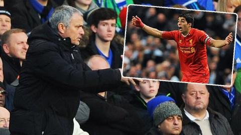 Mourinho khen ngợi Suarez trước thềm trận đấu giữa Chelsea và Liverpool