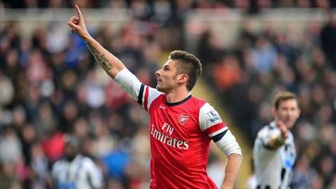 Newcastle đang khiến Arsenal vất vả