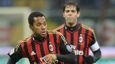 Người hâm mộ Milan kỳ vọng Robinho sẽ hồi sinh giống Kaka