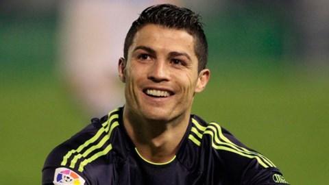 Ronaldo đã ghi được 69 bàn trong năm 2013