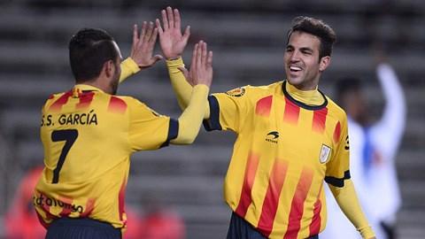 Fabregas và Garcia giúp ĐT Catalunya đánh bại Cape Verde