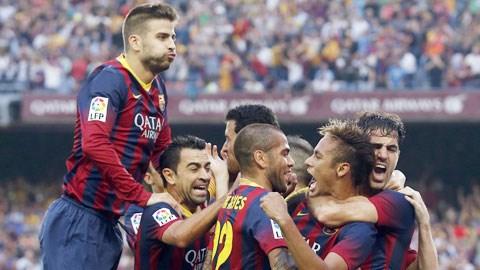 Không khó để Barca dội mưa bàn thắng vào lưới Elche