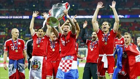 2013 là năm đại thành công của Bayern với 5 chức vô địch