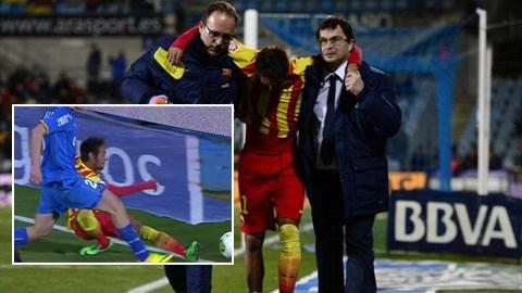 Chấn thương đáng sợ khiến Neymar sớm phải rời sân