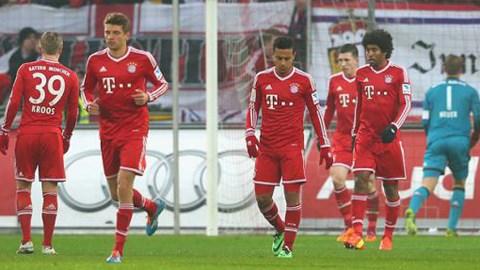 Borussia M gladbach vs Bayern Munich