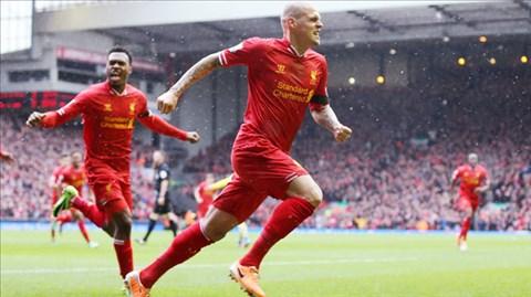 Trên sân nhà Liverpool quá mạnh so với đối thủ Swansea