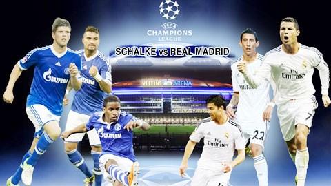 Nhiều khả năng Real Madrid sẽ đánh bại Schalke ngay trên đất khách